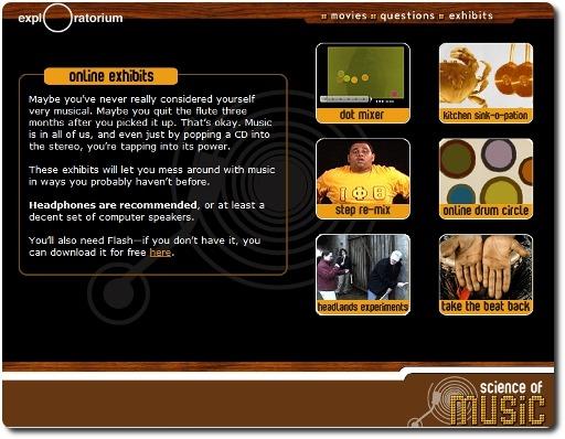 Online Music Activities