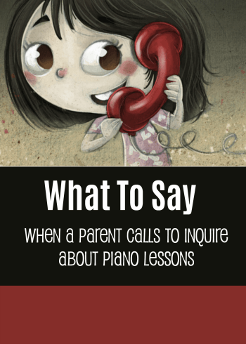 Piano Parents Call