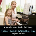 Piano Parent Participation Day
