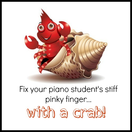 Fixing stiff 5 fingers with crab imagery