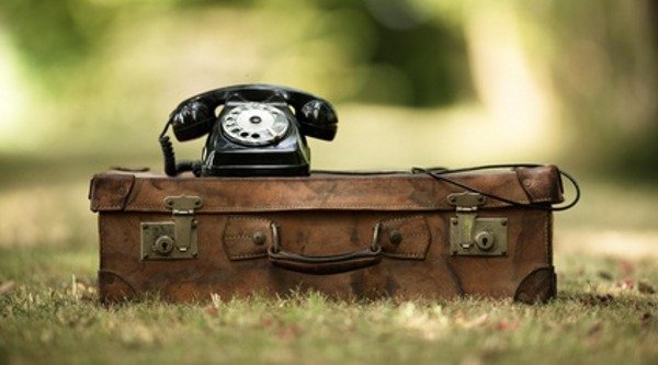 old telephone image