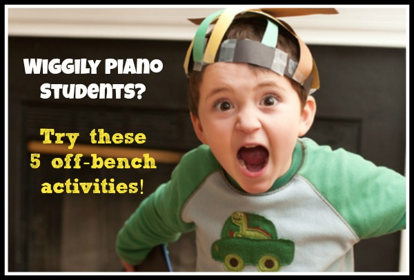 Wiggly piano student