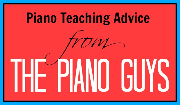 Piano Teaching Advice Direct from Jon Schmidt of The Piano Guys!
