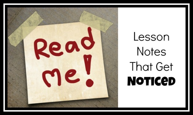 5 Ways to Make Sure Your Piano Lesson Notes Get Noticed