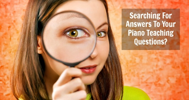 A Great Way To Get All of Your Piano Teaching Questions Answered