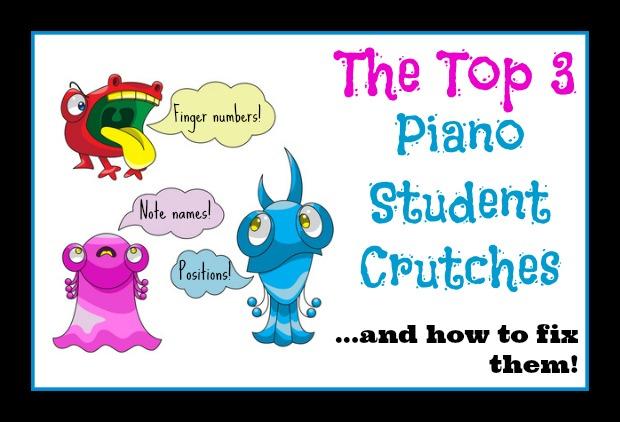 piano student crutches image