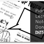 A Printable To Inject Some Fun Into Your Piano Lesson Notes