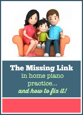 Home Piano Practice Help