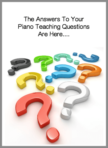 Answering your piano teaching questions