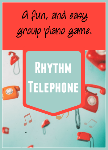 Group piano game