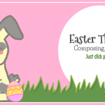 Hop Into Composing With This Easter-Themed Activity