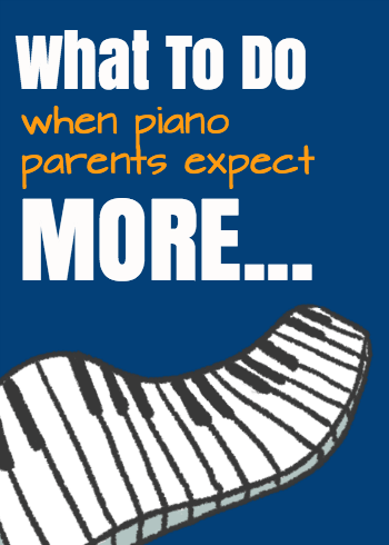 Piano parent expectations