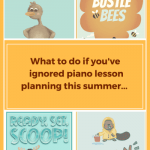What To Do If You Have Ignored Piano Lesson Planning This Summer