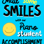 Piano Student Accomplishment Postcards… Mail Your Kiddos Some Smiles!