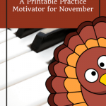 Save The Turkey! A Super-Cute Tool To Inspire Home Practice In November