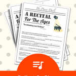 Your Spring Piano Recital Is Over… So Now What? A Round-Up Of Our Best Post-Recital Plans!