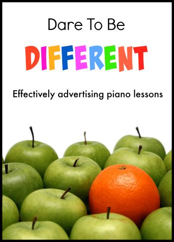 Tips for advertising piano lessons