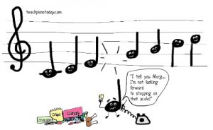 Music-themed cartoon