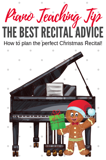 Christmas Piano.Christmas Piano Recital Tips From A Gingerbread Man