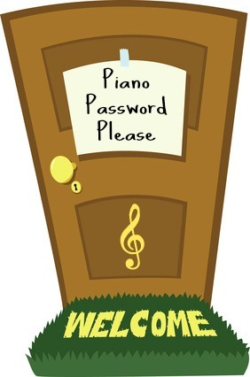 Piano Password Image