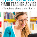 Talking with Teachers – Share Your Best Advice For A Newbie