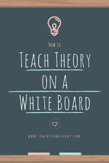 Piano theory ideas