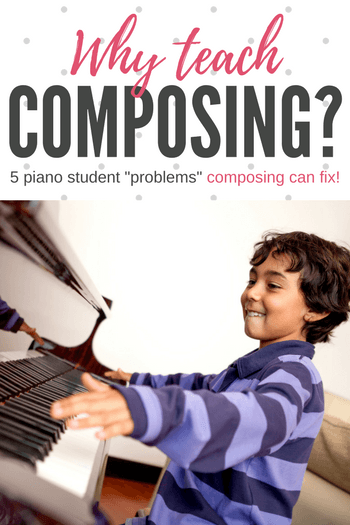 Fixing Piano Problems With Composing