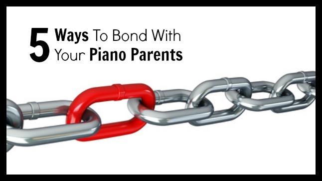 Bonding piano parents image