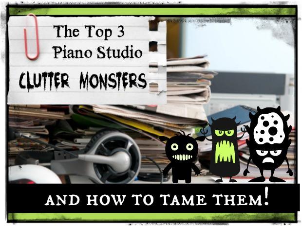 stop piano studio clutter image