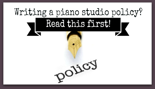 writing a piano policy image