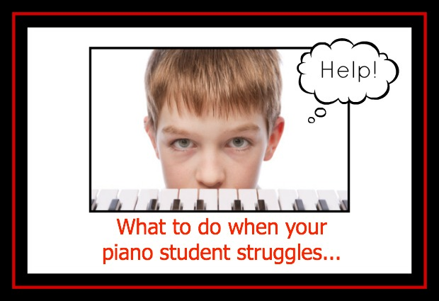 piano student who needs help image