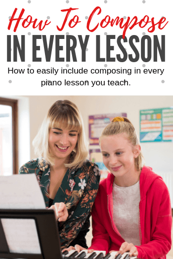 Include Composing In Every Lesson