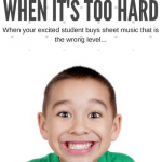 "How to Teach ""Way Too Hard"" Piano Sheet Music To Your Excited Student"