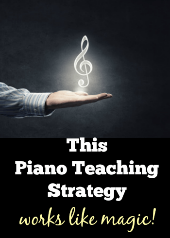 Teaching Piano With Mirroring