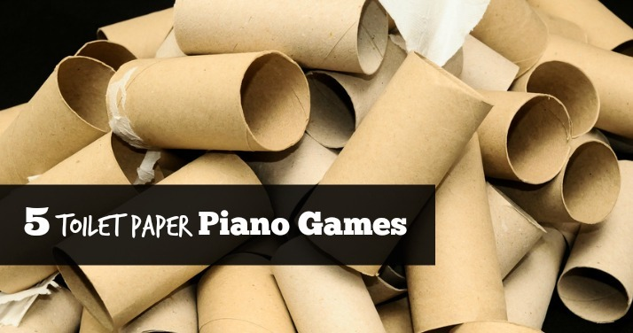 5 Toilet Paper Piano Games