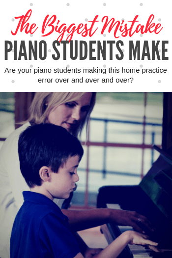 The Huge Practice Mistake That Thousands of Piano Students
