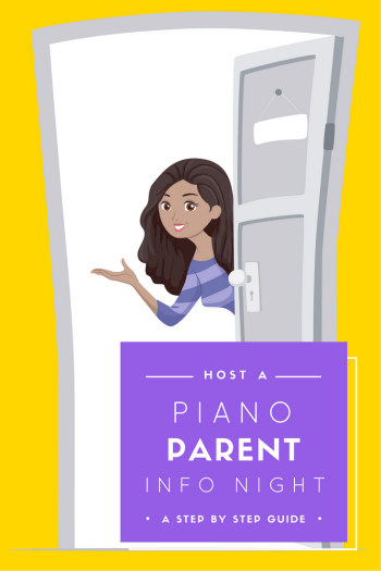 Piano Parent Info Night