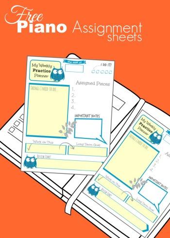 assignmentsheets
