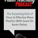 Is Sleep the Final Piece of the Perfect Practice Puzzle?