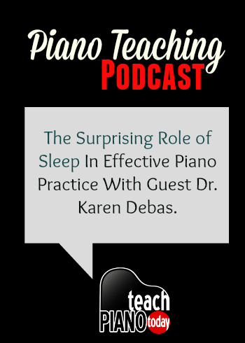 What effect does sleep have on practice?