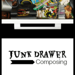 A Trash To Treasure Composing Activity! Have Fun and Clean Out Your Junk Drawer…