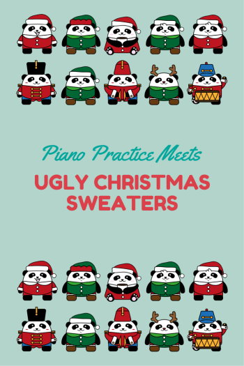What piano teachers can learn from ugly christmas sweaters