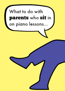 Parents in piano lessons
