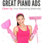 The 4-Part Process To Sprucing Up Your Piano Lesson Advertising Materials