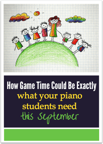 September Piano Game Use