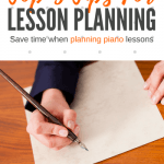 5 Changes To My Piano Lesson Planning That Have Saved My Sanity