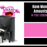 Have Monsterous Amounts of Fun This Week… Two Resources For Your Piano Studio