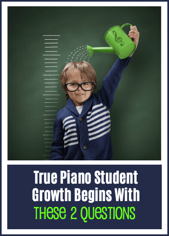 Piano Student Growth