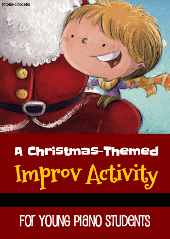 Printable Christmas Improv Activity