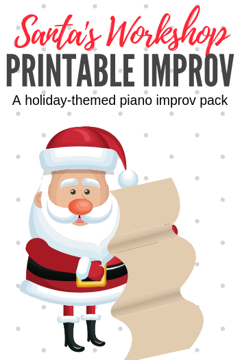 This printable improv pack makes teaching improvisation easy... even if you've never done it yourself before. The